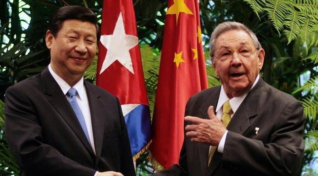 Image result for china and cuba images