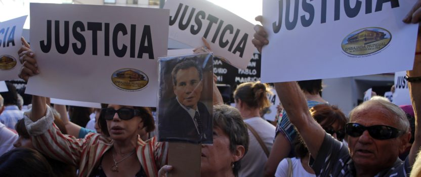 Argentina's Nisman Case: Swinging Pendulum, Weighted Scales