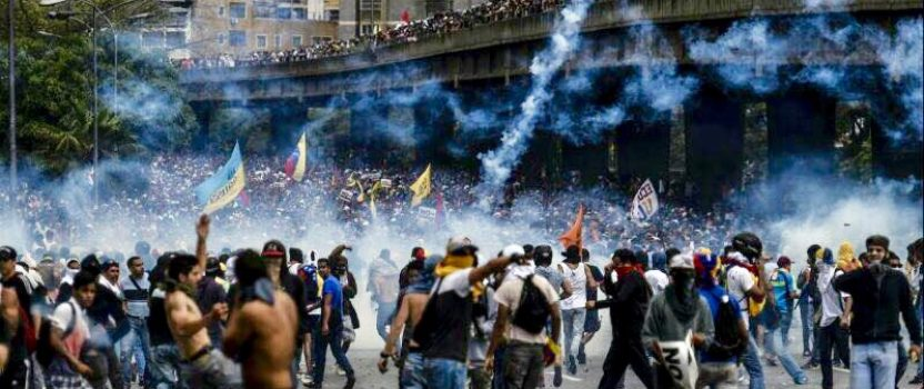 Venezuela Burns for Democracy