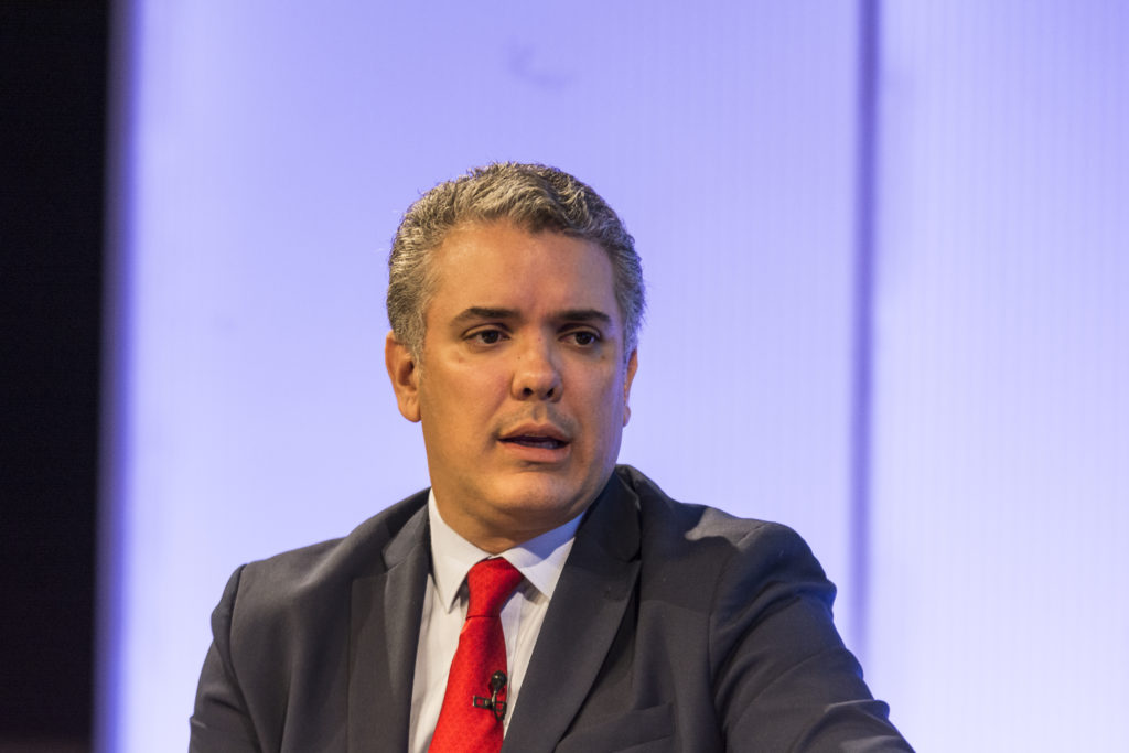 Colombia presidential candidate Iván Duque