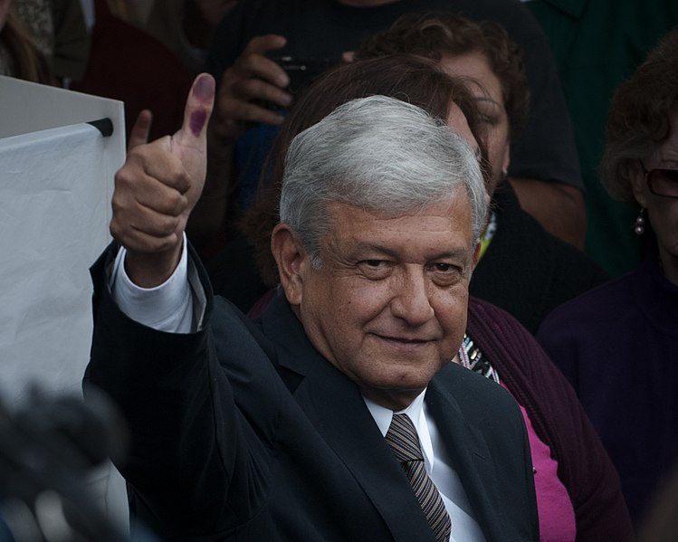 Mexico's AMLO votes